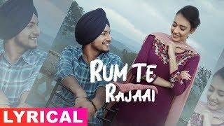 Rum Te Rajaai (Lyrical ) | Amar Sehmbi | Desi Crew | Latest Punjabi Songs 2019 | Speed Records
