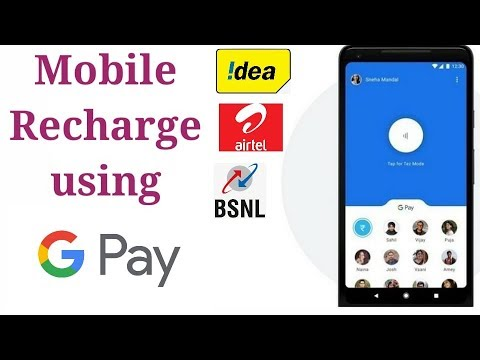How To Recharge Mobile Using Google Pay