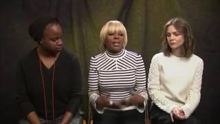 Mary J  Blige denounces Trump as