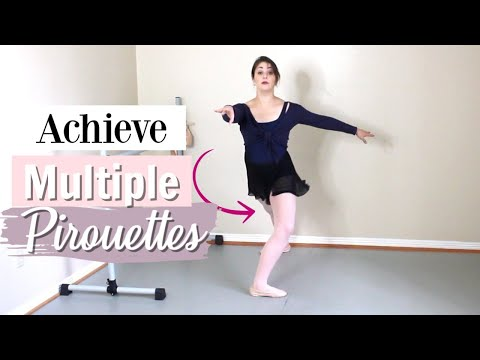 How to Do Multiple Pirouettes | Kathryn Morgan