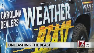 Introducing the CBS 17 Storm Team Weather Beast