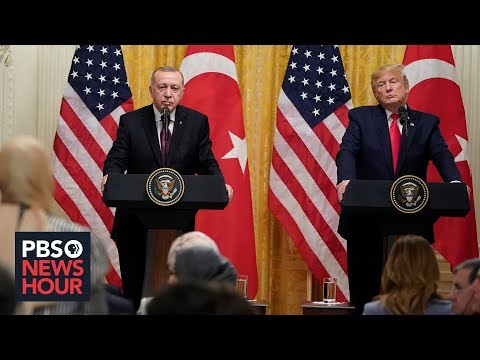 PBS NewsHour: Despite tensions over Syria, Trump offers Erdogan a warm welcome