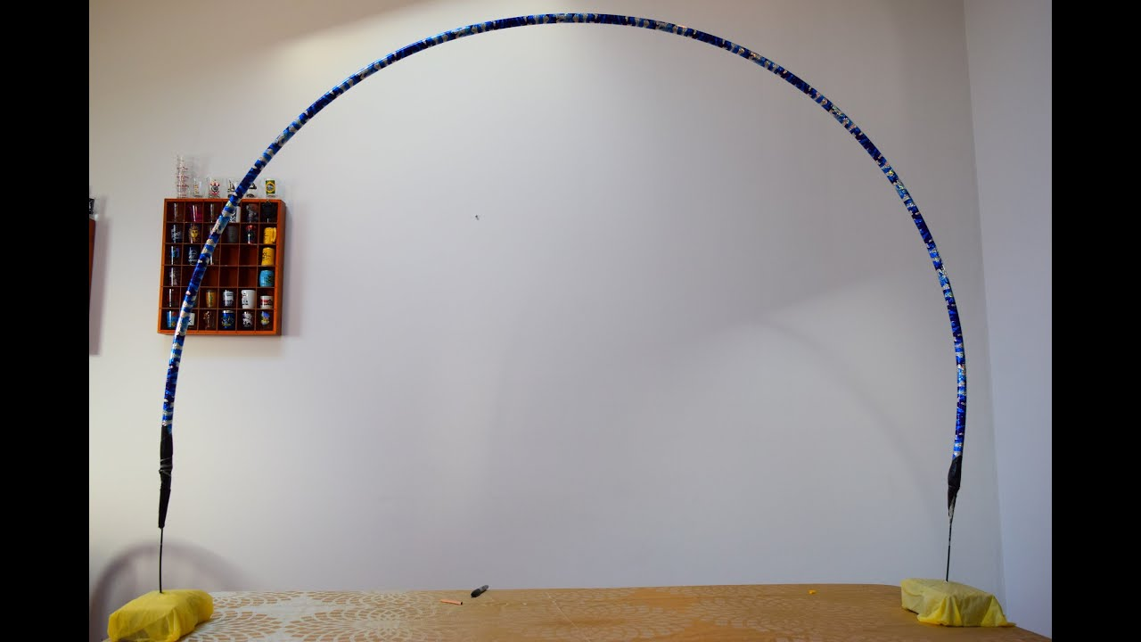 passo a passo de como fazer em casa uma estrutura para arcos de baloes YouTube -> Decoração Com Balões Como Fazer Passo A Passo