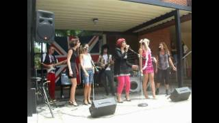 Hannah A. Cardenas in Naples High School very own Spice Girls