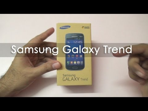 Samsung Galaxy Trend Duos Unboxing & Overview