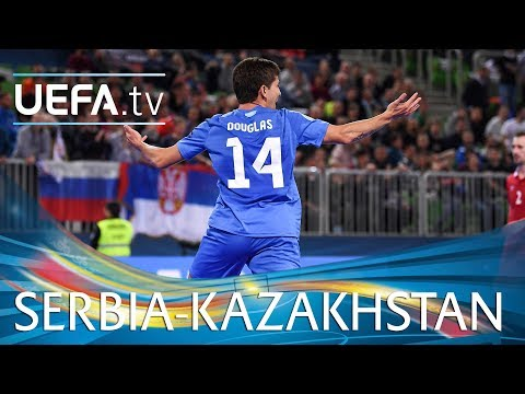 Futsal EURO highlights: Serbia v Kazakhstan
