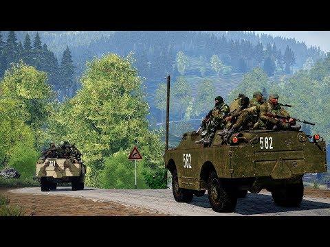 """Одиночная Кампания """"Пять дней войны"""" для ARMA 3"""