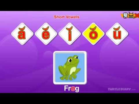 Short Vowels - Phonics for Grade 2
