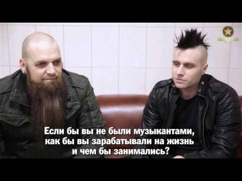 Интервью с The Three Days Grace пермским организаторам