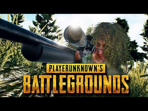 Playerunknown's Battlegrounds Gameplay German - Der Feind ist überall