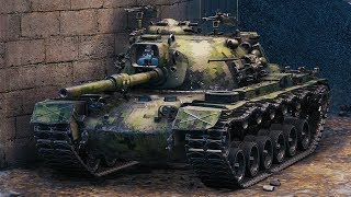 World of Tanks M48A5 Patton - 10 Kills 10,7K Damage