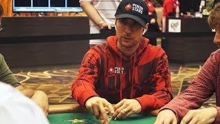WSOP $10,000  Main Event Day 2 & $1,500 PLO; 10th cash of the summer!