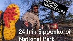 24 h in Sipoonkorpi National Park | Microadventure