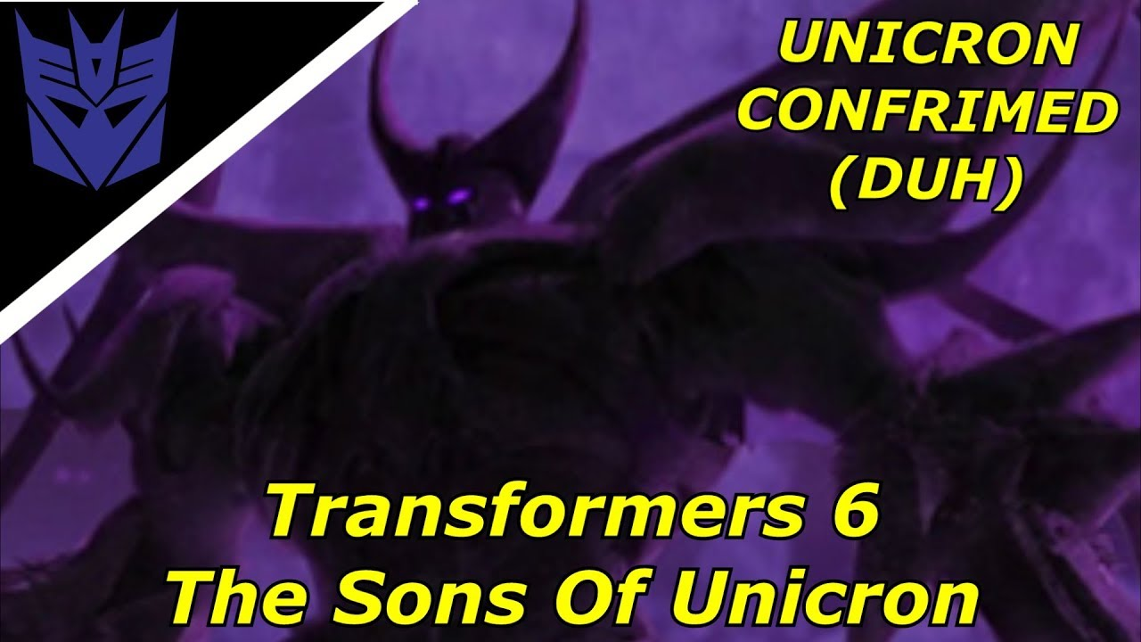 Transformers 6 The Sons Of Unicron Directed By Michael Bay Teaser