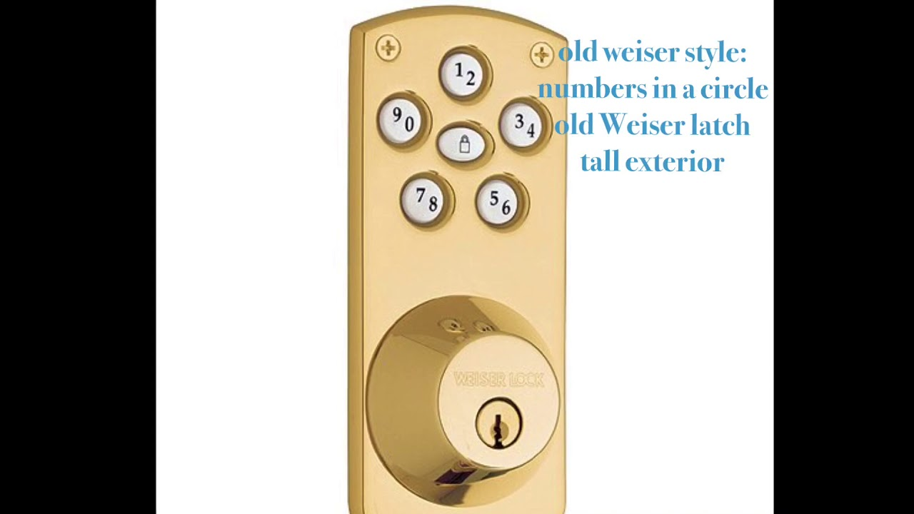 Noise difference between old Weiser Powerbolt \u0026 new Kwikset or Weiser Powerbolt & Noise difference between old Weiser Powerbolt \u0026 new Kwikset or ...