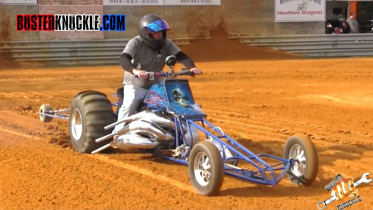 Atv Pull Behind Drag : Extreme sand drag quads newtown dragway youtube