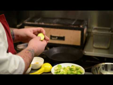 How to prepare brussel sprouts on pan