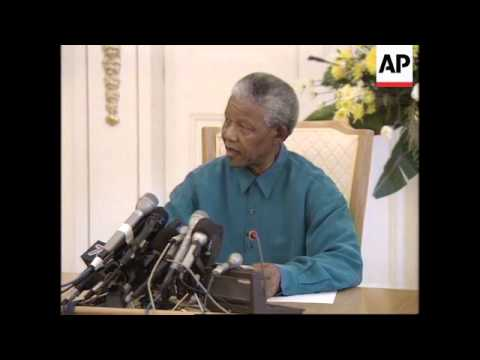 SOUTH AFRICA: WINNIE MANDELA IS SACKED FROM GOVERNMENT