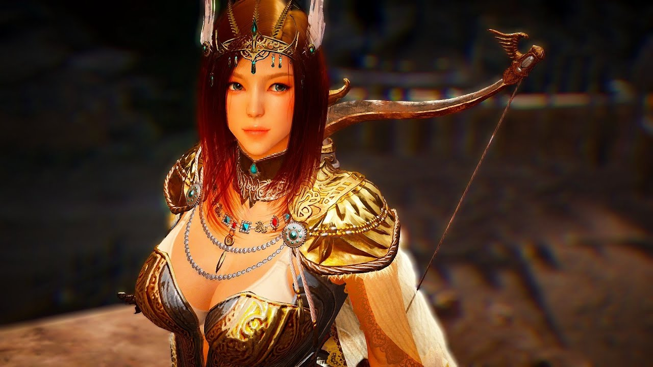 Black Desert - Tyrie Weapon & Outfit Set