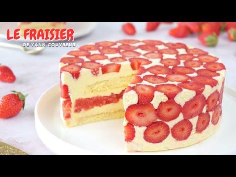 le-fraisier-de-yann-couvreur---facile-et-rapide