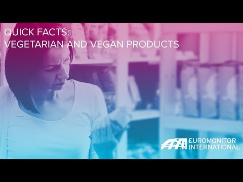 Quick Facts: Vegetarian and Vegan Products