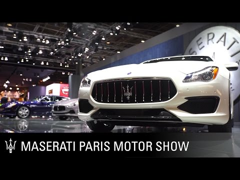 Maserati at the 2016 Paris Motor Show. Best of
