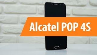 распаковка Alcatel POP 4S / Unboxing Alcatel POP 4S