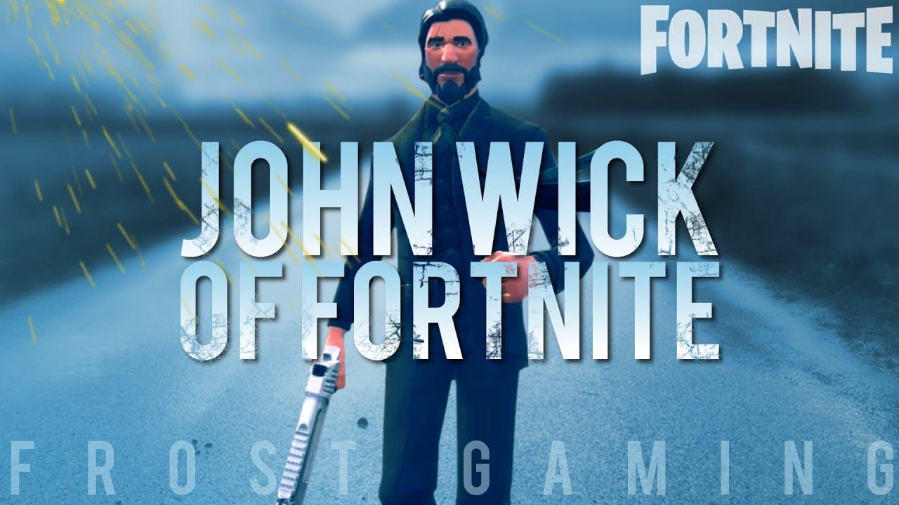 The John Wick Of Fortnite Fortnite Battle Royale Youtube