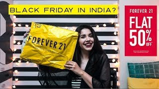 Forever 21 Sale Haul - Flat 50% Off 2017! Online Shopping In India | Heli