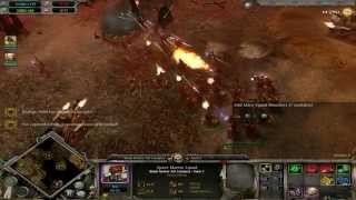 Warhammer 40k Dawn Of War [Gameplay HD] widescreen battle 16:9