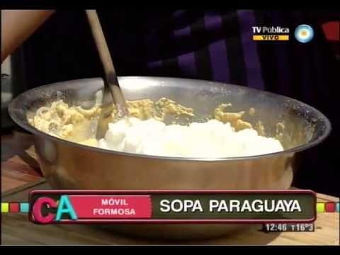 Sopa paraguaya formoseña - YouTube