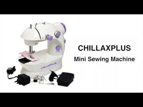 CHILLAXPLUS 4 in 1 Mini Sewing Machine