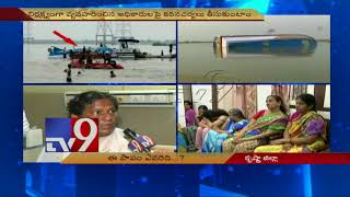 Krishna boat tragedy || Victims recount horror - TV9