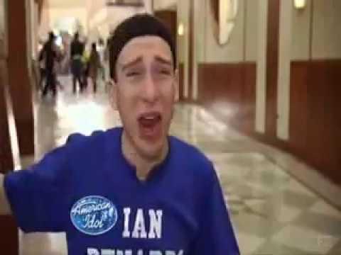 Ian Benardo - Self-Centered Faggot in American Idol