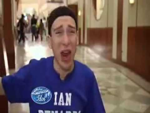 Ian Benardo - Self-Centered Faggot in American Idol