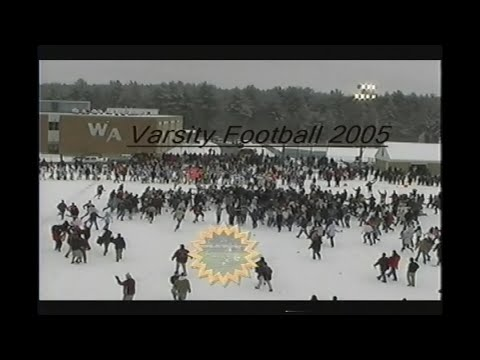 Westford Academy Varsity Football 2005