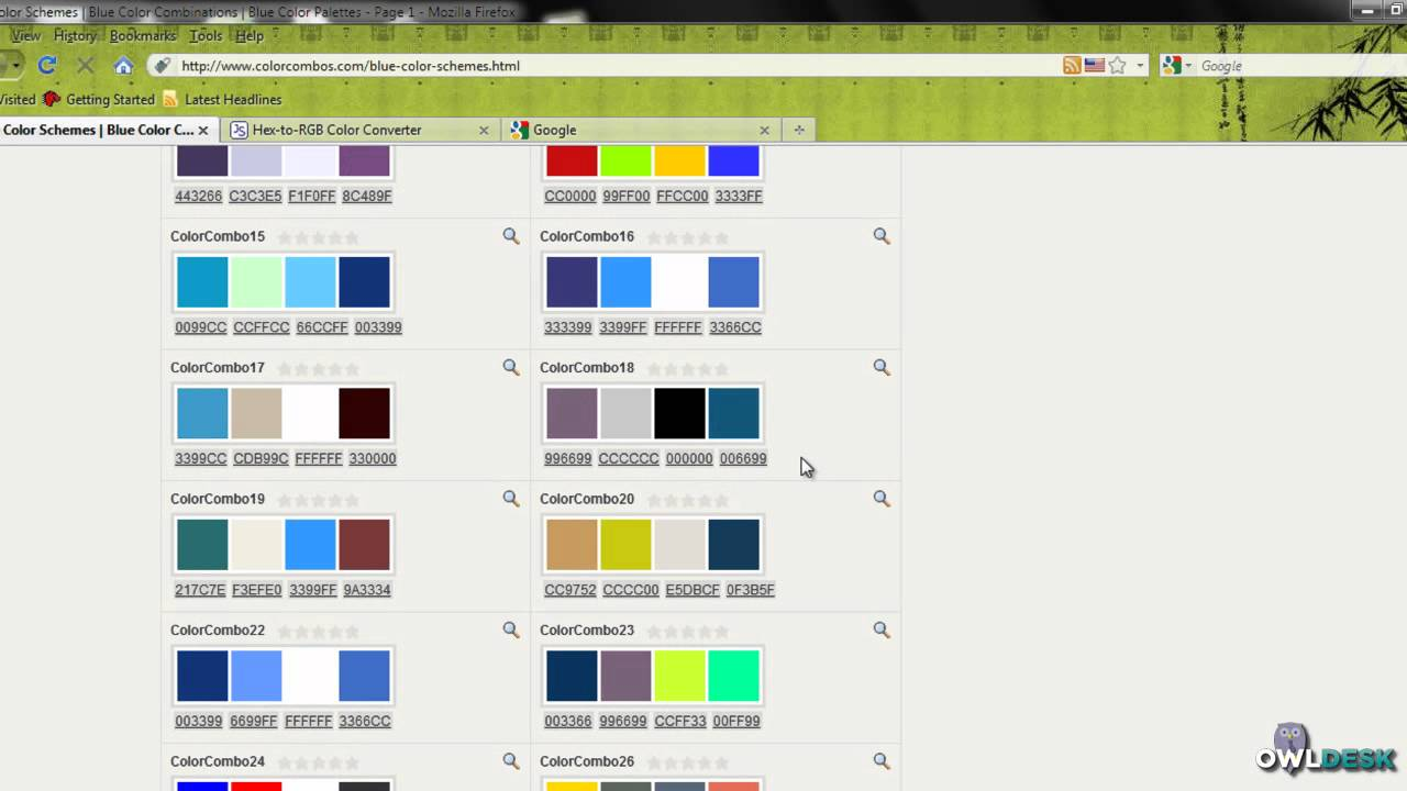 how to find match your website colors youtube