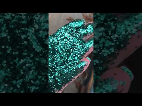 Peachy Olive Glitters - COURAGE- GLITTER TUMBLERS-CRAFTS-DIY-SPARKLE-EPOXY-SLIME