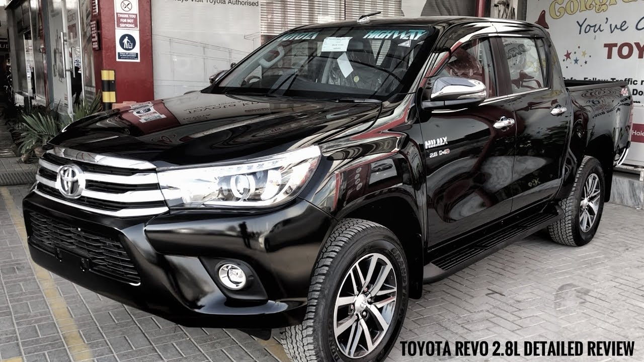 Toyota Hilux Revo 2 8l 2018 Review Price Specs Features Youtube
