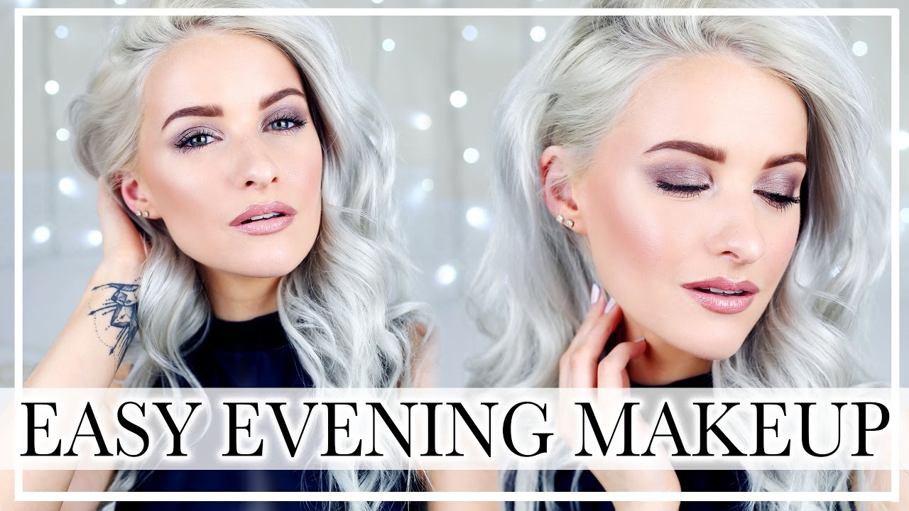 01050fe0d590 GET READY WITH ME  Evening Glowy Skin and Smokey Eyes ad. Inthefrow