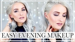GET READY WITH ME: Easy Evening and Wedding Guest Makeup Look with Glowy Skin and Smokey Eyes ad