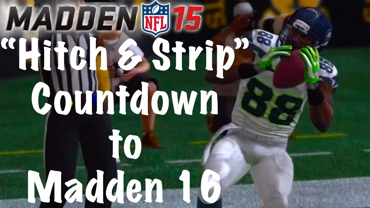 Madden 19 Gameplay Should Feature The Hitch And Strip