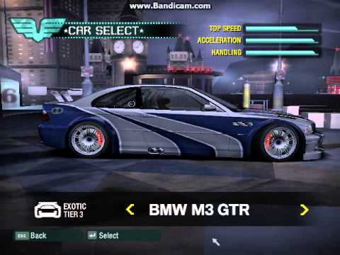 Car Unlock Need For Speed Carbon