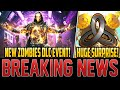 HUGE SURPRISE ZOMBIES DLC RELEASE – NEW MAP CHANGES, GAME MODES, FEATURES! (Cold War Zombies)