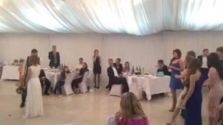 Невеста бросает букет! #хамстерсвадьба