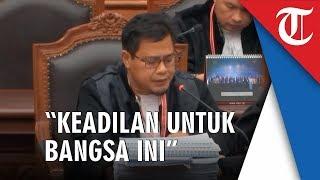 Momen Kuasa Hukum Prabowo-Sandi Bacakan Surat Annisa Ayat 13 di Sidang Mahkamah (MK)