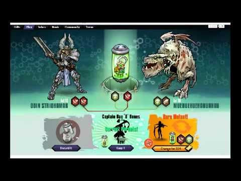 Mutants: Genetic Gladiators...Combinaciones (correct parents)
