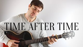 Time After Time - Eva Cassidy - Acoustic Guitar Instrumental