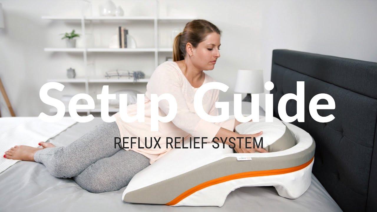 medcline reflux relief sleep system setup video