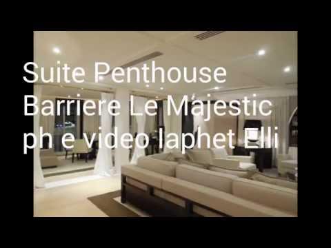 Suite Penthouse al Barriere Le Majestic di Cannes #FranceFR #MyMajesticexperience
